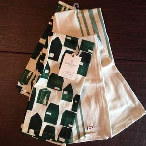 NWT - NEW Target Heart & Hand Kitchen Towels Multi